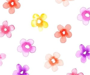 background, flowers, and colors image