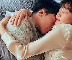 couple, gif, and jang ki yong image
