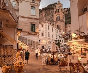 city, italy, and summer image