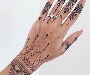 black, body art, and hands image