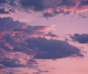background, purple, and cloud image