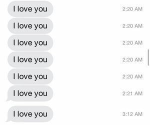 I Love You, love, and message image