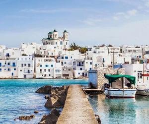 sea, summer, and city image