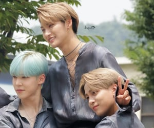 k-pop, hongjoong, and san image