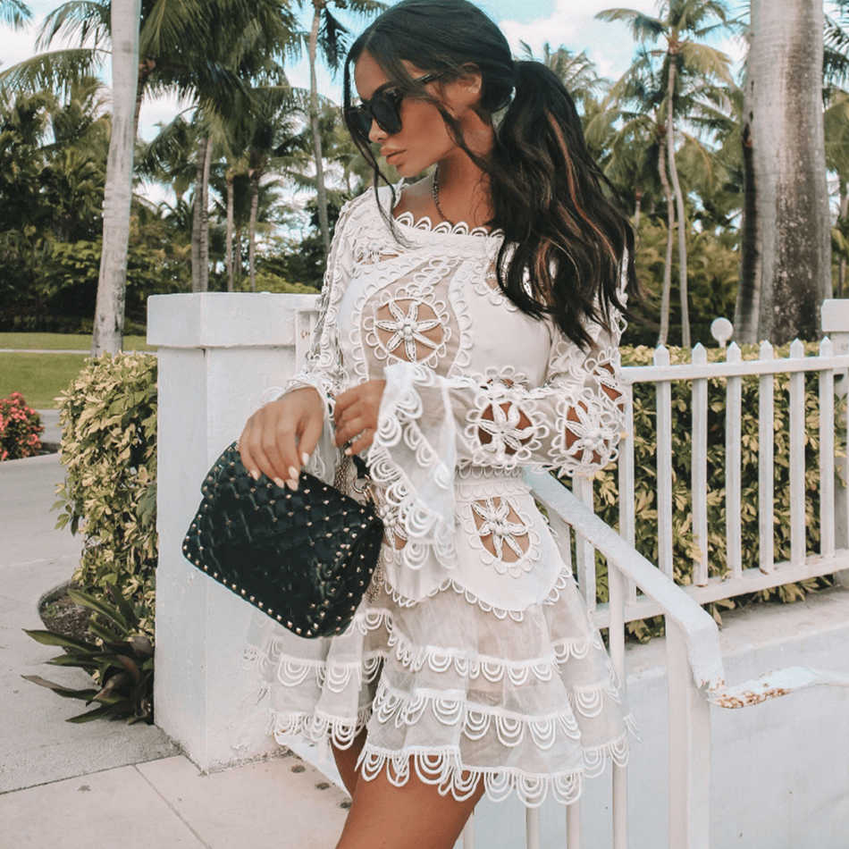 article, fashion tips, and lace image