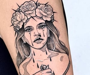 art, ink, and Tattoos image