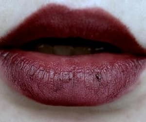 lips, red, and blood image