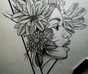 art, dibujo, and suicidio image