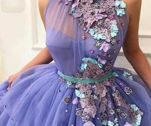 dress, فساتين, and بنفسجي image
