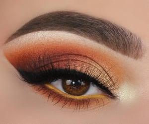 make up, eye, and eyes image