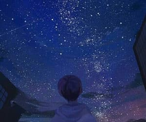 sky, stars, and wallpapers image