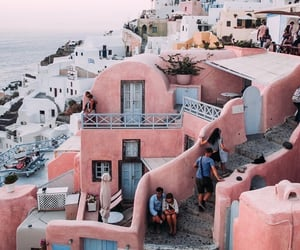 city, Greece, and vacation image