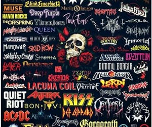 kiss, metal, and music image