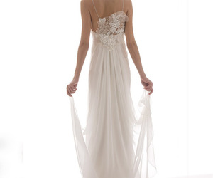 dresses, fashion, and wedding gown image