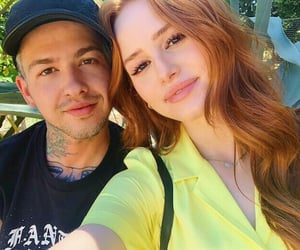 couple and madelaine petsch image
