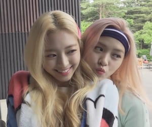 yuna, itzy, and ryujin image
