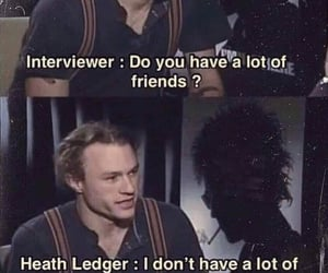 heath ledger, film, and interview image