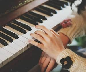photo, photography, and piano image
