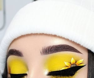eye, lashes, and brows image