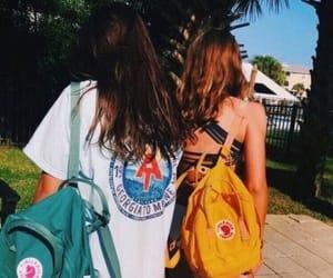 girl, summer, and kanken image