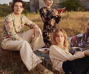 Harry Styles, campaign, and gucci image