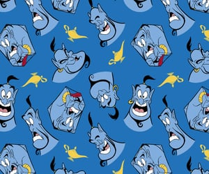 aladdin, disney, and pattern image