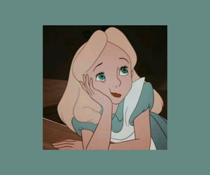 wallpaper, disney, and alice image