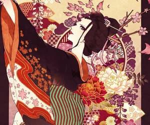 anime, anime girl, and waifu image