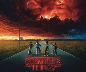 stranger things, netflix, and tv series image