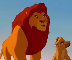 classic, lion king, and vintage image