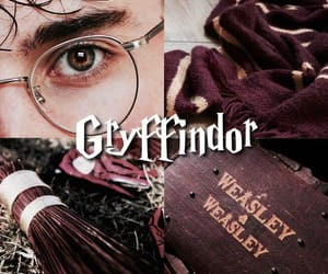 gryffindor and harry potter image