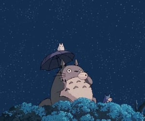 totoro, aesthetic, and anime image