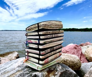 books, journaling, and journals image