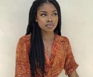 beauty, pretty girls, and melanin image