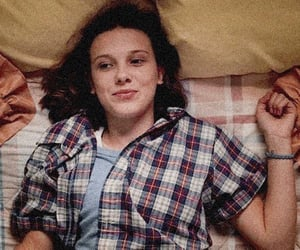 stranger things, netflix, and millie bobby brown image