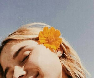 bloom, girl, and inspiration image