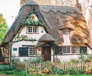 cottage, country living, and countryside image