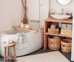 bathroom, cosy, and decor image
