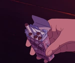 90s, anime, and cigarettes image