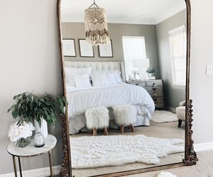home, interior, and mirror image