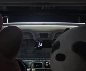 car, dark, and midnight image
