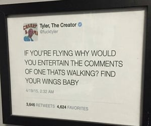tyler the creator, quote, and text image