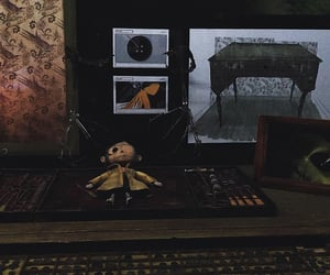 coraline, creepy, and doll image