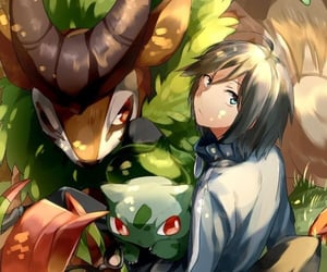 pokemon and anime boy image