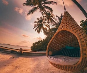 happy, Maldives, and relax image