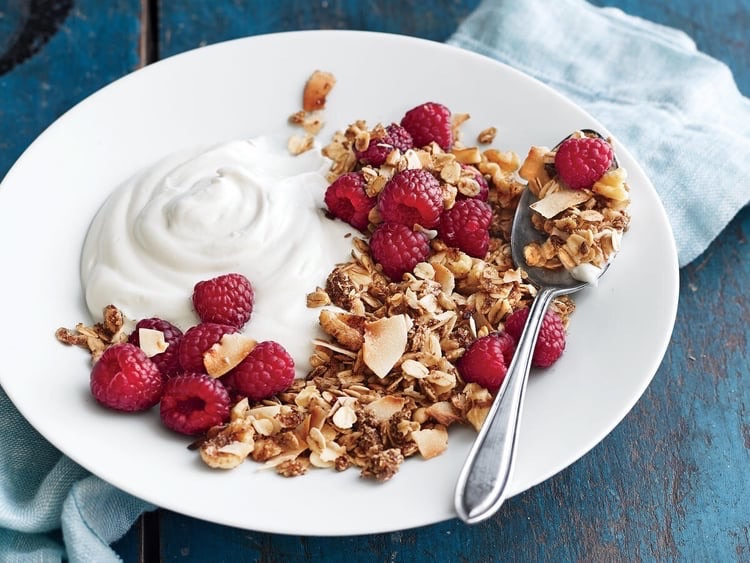 berries, food, and healthy image