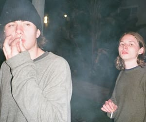 cigarette, grunge, and boy image