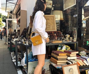 art, chic, and french girl image