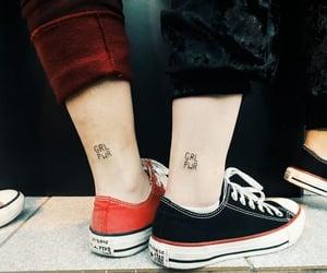 feminism, feminist, and tattoo image