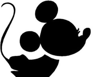 couple, minnie mouse, and silhouette image